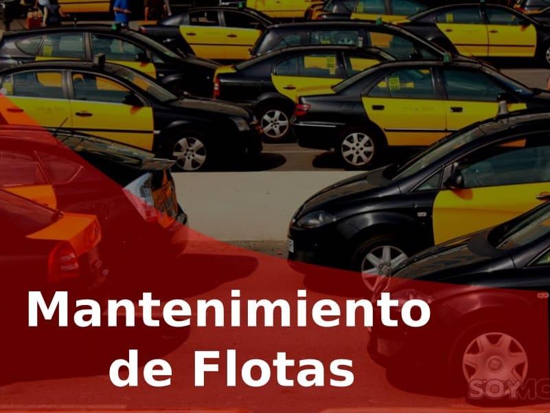 Mantenimiento de flotas de taxi en Barcelona